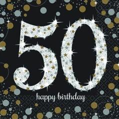 Aniversário 50 Anos Homem