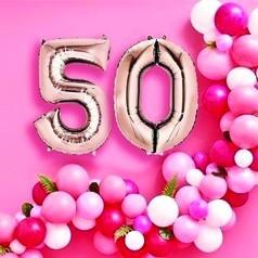 Balões Aniversário 50 Anos