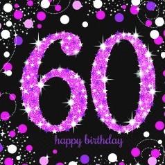 Aniversário 60 Anos Mulher