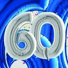 Globos 60 Aniversário