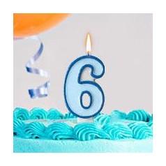Cumpleaños 6 Años Niño