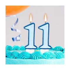 Aniversário 11 Anos Menino