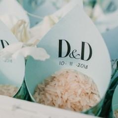 Cones para Arroz Casamento