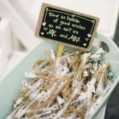 Bolinha de Sabão Casamento