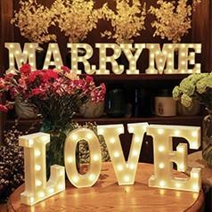 Letras de Luces para Casamentos