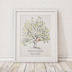 Árvore de Digitais Casamento