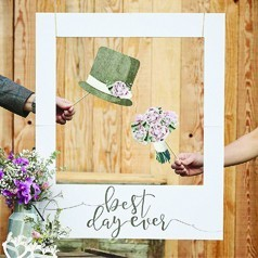 Moldura Photo Booth Casamento