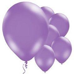 Balões Lílas
