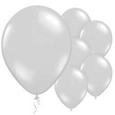 Balões Prateados
