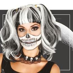 Perucas Halloween